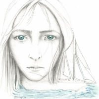 Girl With the Sea Blue Eyes