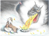 The Wizard and the Fire Dragon
