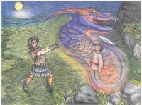 Warrior and Trickster Dragon