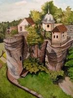Sloup Castle Czech Republic